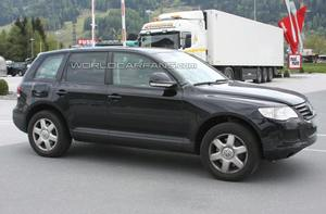 Volkswagen Touareg: кузов старый -
