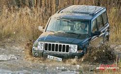 Тест драйв автомобилей: Jeep Commander CRD и VW Touareg