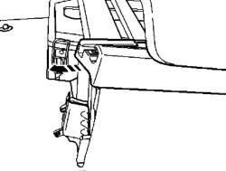 Снятие передней панели панели
