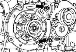 Крепежные болты M8х90 генератора