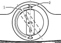 Регулировка положения сдвижного люка