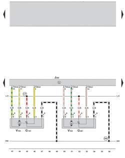 Электросхема климатической установки Climatronic 2-C (устанавливается с 05.2005) 4
