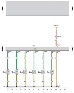 Электросхема климатической установки Climatronic 2-C (устанавливается с 05.2005) 5
