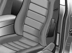 Боковая надувная подушка в сиденье водителя