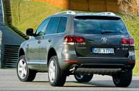 Верхушка Туарега: Volkswagen Touareg
