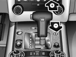 Селектор в положении ручного управления