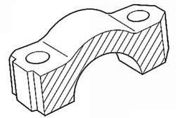 Прилегающая поверхность крышки подшипника