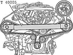 Установка зажима распредвалов T4000