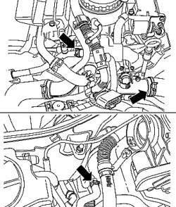 Шланги системы охлаждения двигателя