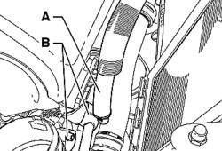 Трубка компрессора пневматической подвески