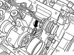 Последовательность выкручивания болтов крепления головки блока цилиндров