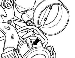 Вакуумный шланг клапана подачи вторичного воздуха N112