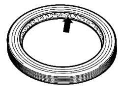 Рабочая кромка уплотнительного кольца