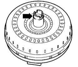 Ступица гидротрансформатора