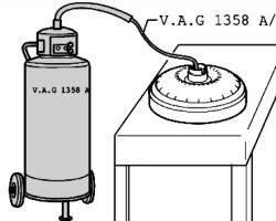 Откачка жидкости из гидротрансформатора