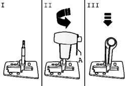 Схема установки рычага селектора