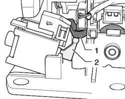 Блокирующий рычаг привода переключения передач