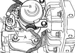 Штекеры электродвигателя раздаточной коробки