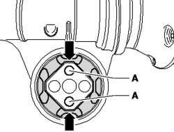 Резинометаллическая опора с 2 углублениями
