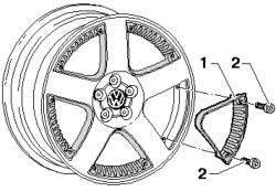 Декоративный элемент диска
