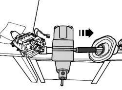 Стягивание нижней и верхней частей рулевой колонки