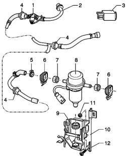 Вакуумный насос тормозов V192