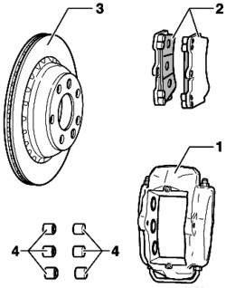 Тормоз переднего колеса Brembo (17'')