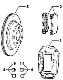 Тормоз переднего колеса Brembo (18'')