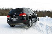 Тест драйв автомобилей: BMW X5 3.0, Mercedes ML 320 и Volkswagen Touareg
